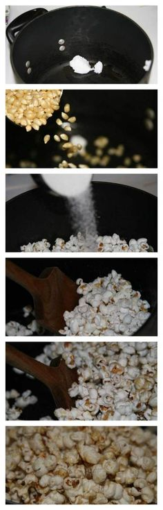 Homemade Kettle Corn: a delicious (and cheap!) snack for a crowd