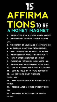 Dollar Origami, Money Origami, Affirmations Positives, Money Affirmations, Making Money Teens, Positive Mental Attitude, Secret Quotes, Self Empowerment, Money Management