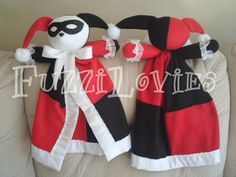 Harley Quinn is now available by commission! FuzziLovies.etsy.com