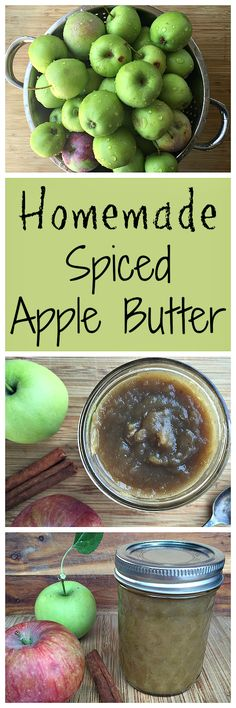 Make some yummy spiced apple butter with this homemade recipe!