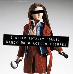Nancy Drew action figures
