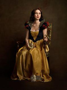 Artist Sacha Goldberger's version of Snow White
