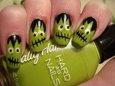 Spooktacular Halloween Nail Art