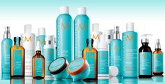 Want your hair to shine and to look healthy? Moroccanoil is the solution!