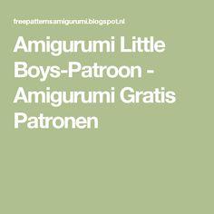 Amigurumi Little Boys-Patroon - Amigurumi Gratis Patronen