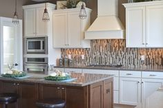 Kitchen's Backsplash     #backsplash #kitchenideas #kitchenappliances #cabinetry