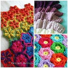 The Felted button - patterns!