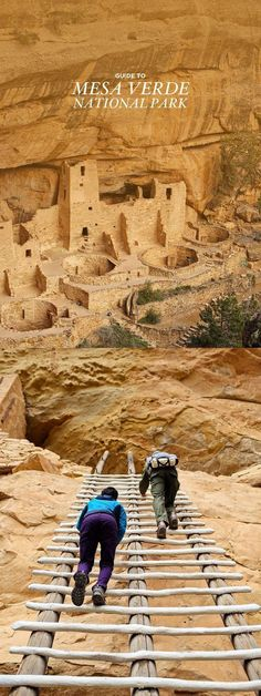 Hiking in Mesa Verde National park in Colorado, where you can explore Anastasi Indian Ruins.