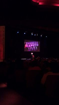 Saw Theresa Caputo live (long island medium)