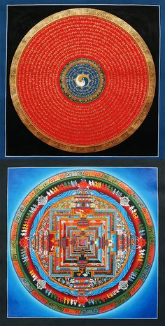 Order online beautiful #Mandala #Thangka Paintings realized by master artworks.