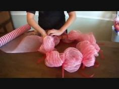 Making Wreaths The Crafty Way - YouTube