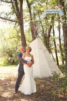 Teepee! Squirrel Creek Ranch wedding by Katie White Photography. Catering by Farm to Table Catering