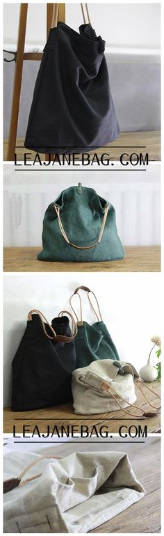 Canvas Bag, Women Tote Bag, Canvas Travel Bag YY004