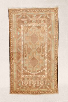 Vintage 2x4 Tile Overdyed Rug - Urban Outfitters