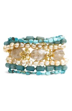 Multistrand Semiprecious Bracelet (Nordstrom Exclusive)