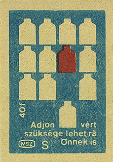 Hungarian matchbox label | Flickr
