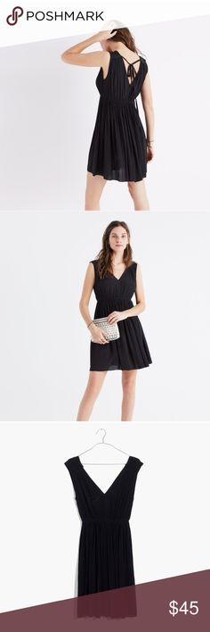 NWOT madewell black dress New! Beautiful for special events and summer nights. Madewell Dresses