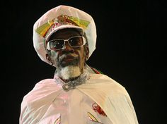 Kingston, Jamaica's own Neville O'Riley Livingston a.k.a. Bunny Wailer! One of the original members of The Wailers with Bob Marley and Peter Tosh. He was actually Bob Marley's stepbrother and has won at least three Grammy Awards for reggae music as a solo artist himself.