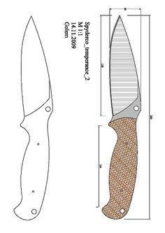 tops_wind_runner_XL Model (1).pdf - OneDrive Forging Knives, Tactical Knives, Cool Knives, Knives And Swords, 2x72 Belt Grinder Plans, Homemade Forge, Knife Drawing, Knife Shapes, Knife Template