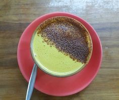 It doesn't get much more nourishing or delicious than a Bircher Bar Turmeric Latte. Made with our house turmeric latte spice blend and organic coconut milk sweetened with a touch of raw honey and dusted with cinnamon this is the perfect cup for any occasion! #thebircherbar #bircherbar #lismore #cafe #pantry #deli #turmeric #ginger #organic #goldenlatte #goldenmilk http://ift.tt/1cD4c3y
