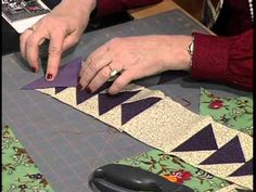 Eleanor Burns shares a story passed down through families about a link between slave-made quilts and the Underground Railroad. Slaves reportedly made coded q...