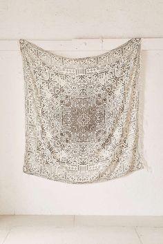 magical thinking izmir maze fringe tapestry   UO