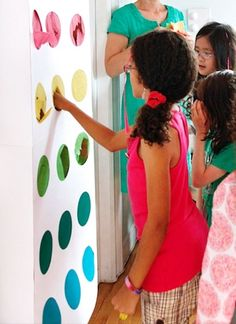 Candy Themed Birthday Party - games and decor ideas