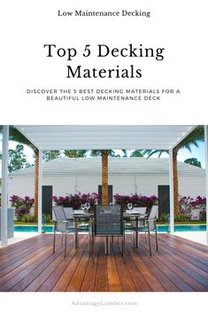 Best Decking Material, Backyard Patio Designs, Pool Backyard, New Deck, Home Landscaping, Decks And Porches, Pool Designs, Low Deck Designs, Coney Island