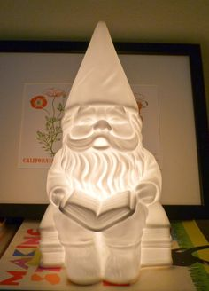 Gnome Lamp - I want one!