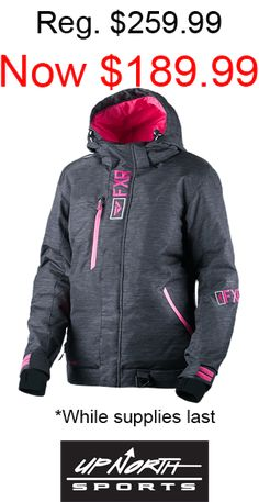 FXR Racing Vertical Edge Trilaminate Womens Coats Ladies Hooded Zip Up Jackets