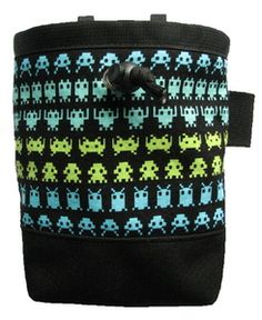 space invaders chalk bag - $18