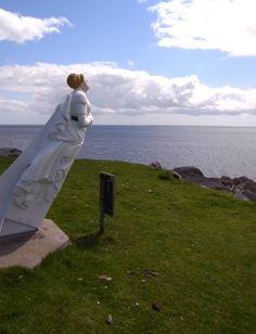 Da White Wife, Yell, Shetland Isles