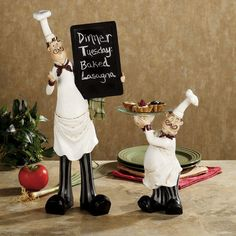 Chef Set of 2 Accents