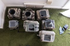 8. The seven camera trap housings that I brought on a trip to Kenya to camera trap wildlife with ecologist Jake Goheen. Full Frame Camera, Remote Sensing, Photo Storage, Ambient Light, Depth Of Field, Studio S, Wildlife Photography, Cinematography, Kenya
