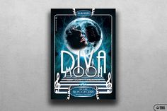 **This item is also included in 2 flyer bundles:**- **Massive 300 Flyers Bundle:** https://crmrkt.com/9O9Ee- **74 Live and Concerts Flyers Bundle:** https://crmrkt.com/rl7g0------**RETRO FUTURISTIC FULL MOON OPERA FLYER TEMPLATE:**- 1 Photoshop .psd file, 1 help file.- A4 size (21x29.7 cm) or (8.3x1