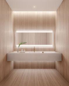 Bathroom Mirror Lights – Makes Your Bathroom Stylish! Modern Bathrooms Interior, Modern Bathroom Design, Modern Interior, 3d Interior Design, Bathroom Interior Design, Bad Inspiration, Bathroom Inspiration, Ideas Baños, Decor Ideas
