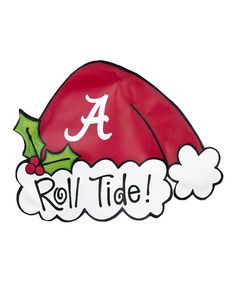 Love this Alabama Crimson Tide Tree Topper by  on #zulily! #zulilyfinds