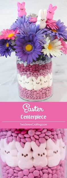 Easter is coming. Are you ready to decorate and celebrate Easter? If you don't have the idea of Easter crafts, you're in the right place. Here, we have collected a lot of DIY ideas for your Easter needs. From exquisite Easter eggs, colorful flower c Easter Table Settings, Easter Table Decorations, Easter Centerpiece, Centerpiece Ideas, Room Decorations, Ostern Party, Diy Ostern, Diy Osterschmuck, Diy Crafts