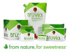 Sugar to Truvia Conversion Chart