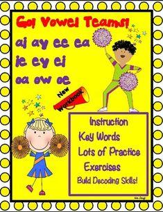 Go Vowel Teams! by Essential Reading- Language Skills | TpT