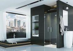 Wyposażenie - 5 pomysłów na modny prysznic    Łazienka.pl Douche Design, Bathroom Lighting, Bathtub, Mirror, Bathrooms, Furniture, Home Decor, Sailboats, Bath