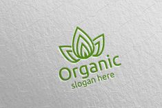 Natural and Organic Logo design 42 by denayunebgt on @creativemarket