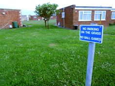 No ball games, 'Holiday' Park, Isle of Wight
