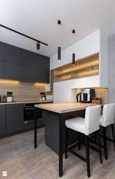 New kitchen lighting galley interior design Ideas Classic Kitchen, New Kitchen, Kitchen Ideas, Kitchen Black, Kitchen Modern, Kitchen Small, Kitchen Contemporary, Kitchen Industrial, Kitchen Layout