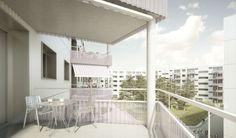 lilin architekten sia gmbh -   Studienauftrag Wohnüberbauung Ifang-Areal