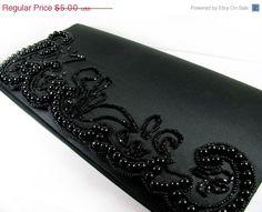 SUMMER SALE Vintage Beaded Black Purse for Repair / by MyChouChou, $4.00