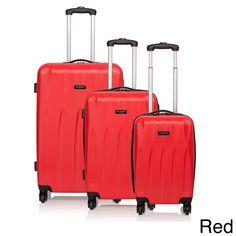 Jean Louis Scherrer Lilias Hardside Spinner 3-piece Luggage Set