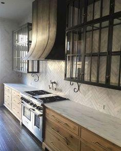Stuning Kitchen Cabinets Farmhouse Style Ideas #kitchen #kitchencabinet #farmhousekitchencabinetidaes