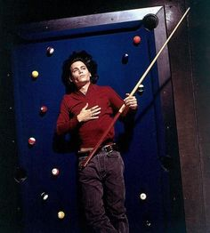 Johnny on a Pool Table - johnny-depp Photo