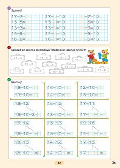 Albumarchívum Worksheets, Album, Learning, Archive, Garden, Baby, Note Cards, Class Room, Math Resources